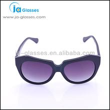 Ja- occhiali neri occhiali di plastica