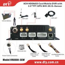 DTY VR8808 dvr serie security car dvr 2014 online sale