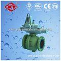 neumática de alta presión v válvula de bola bola 1 precio de la válvula de válvula de bola con actuador de volantes