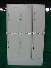 Home used closet doors steel clothes storage wardrobe locker anti-damp furniture