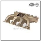 ISO9001 certificate high quality OEM aluminum casting exhaust manifold