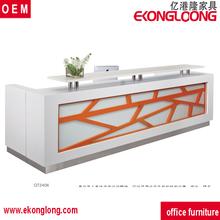 commercial reception desk/office small reception desks