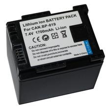 Brand new 7.4V video Camera batteries BP-819 INFO for canon