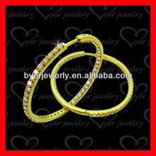fashion jewelry custom silver 18k gold earrings wholesale