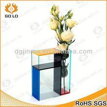 fashion acrylic vase wholesale,display fish bowl,crystal stone factory