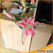 Moda diseño cementerio jarrones, La joyería caja de acrílico, Piedras preciosas perlas de la flor