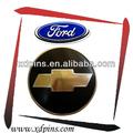 promoção carro famoso emblema emblema do logotipo
