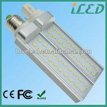 Top Quality High Brightness SMD 5630 G24 PL LED Downlight Bulbs 8W 4000K Day Light CE RoHS