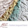 Micrófono de primavera/verano 90% 10% de poliéster acrílico de moda vestir de tela 05361