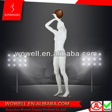 Sports male mannequin, basketball mannequin