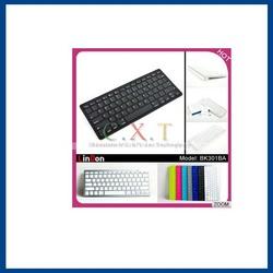 Factory Price Universal Bluetooth Wireless Keyboard For iPad 2,3,4 Mini iPhone/Mac/iMac