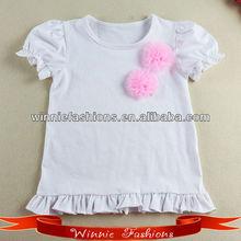 2014 new design beautiful girl t-shirt