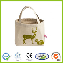 classical canvas tote bag, eco-friendly shopping bag ST3202