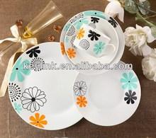 High quality antique new year design porcelain dinner set