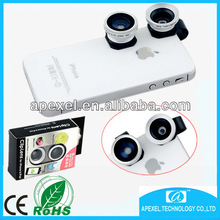 for iphone clip lens,3 in 1 lens for Iphone 5s.clip-on camera lens for all cellphone,wide angle macro fisheye lens for Iphone 5
