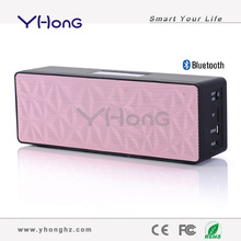 2014 Most popular with Zinc alloy built body wireless bluetooth speaker