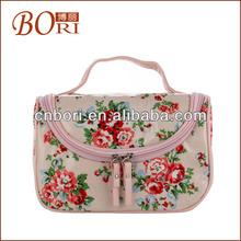nylon cosmetic bag and make up bag for lady for round kolinsky nail art brush