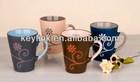 Top grade novelty color new bone thin china mug