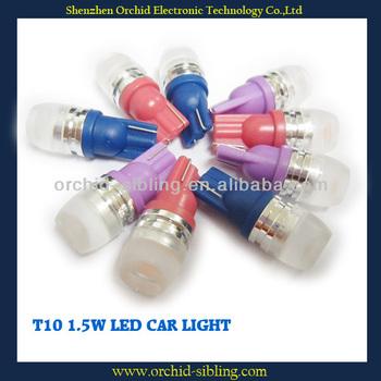 T10 1.5W car led tuning light