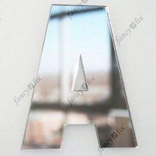 self adhesive wall mirror decoration stickers floor tiles mirror polish