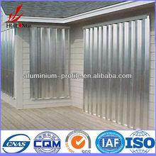 Professional personalizado anodizado trilho de cortina de alumínio