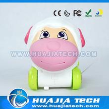 Carton mini plastic sheep toys for girl
