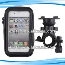 promotion 360 degree rotation waterproof phone bag used on bicycle handbar for phone/gps