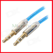 3.5mm Male to Male Spring Audio Cable/ Male to Female Adapter