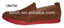 Color outsole fashion men shoe