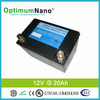 lifepo4 12V 20Ah rechargeable battery for medical divece