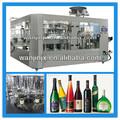Vino automatico/vodka/alcool 750 ml bottiglia di vetro della macchina di riempimento/linea
