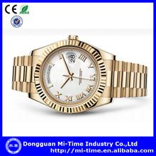 Best price stainless steel quartz movt 2014 luxury brand watch men