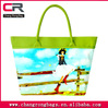 2014 High Quality and Hot selling printed canvas shoulder bag