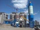 High efficient 75m3/h mobile concrete batching plant on sale