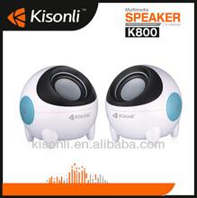 3.5mm Multimedia 3D Stereo Plug Mini Speaker 2.0 Channel