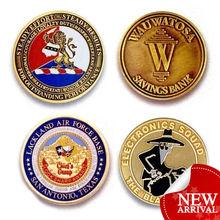 fashion custom round coins