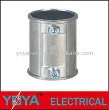 Aluminum EMT conduit pipe coupling