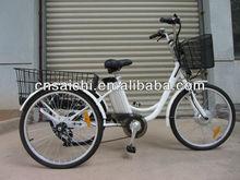 24 Inch 3 wheel Electric bike Electric Tricycle TDM02Z