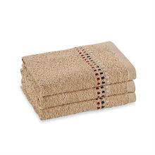 100% cotton Revere Mills Bathsol Confetti hand towel