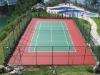silicon pu sports court (tennis court)