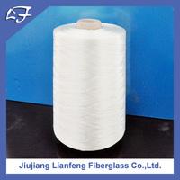 high silica 225 2/2 white soft paraffin glass fiber direct roving