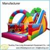 Plastic water slide inflatable 18 wahoo water slide