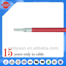 High quality silicone rubber electric cable triplex electrical wire