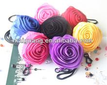 cheap promotional flower shopping bag nylon foldable rose shopping bag SB069