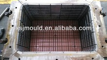 Zhejiang excellent quality plastic injection crate mould