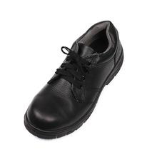 buffalo leather men fancy steel toe cap oil water resistant safety shoes