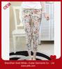 2014 women's custom flower fashion pants