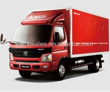 Foton light truck on sales of right hand