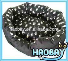 Round fashion soft pet dog bed