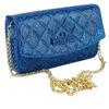 fashion bags ladies handbags silicone ladies purse mental chain women bag